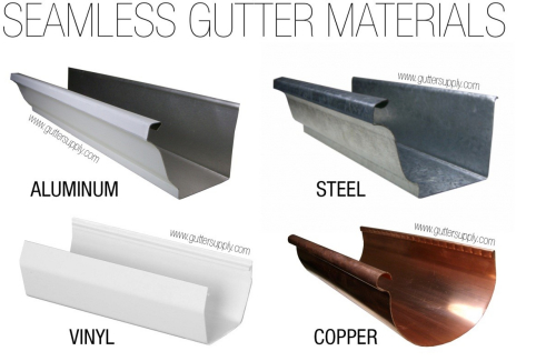 Seamless Gutters Mean Seamless Protection For Your Home