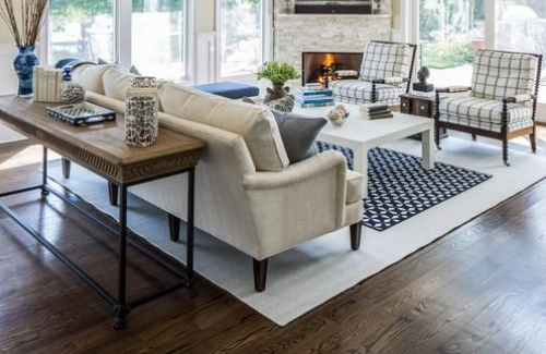 how to layer rugs 2