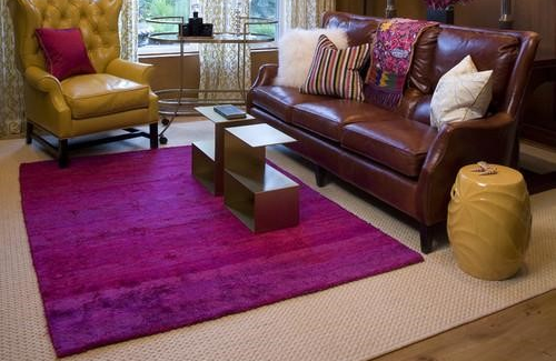 how to layer rugs 3