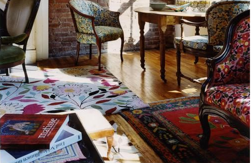 how to layer rugs 4