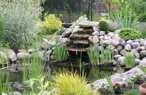 Dining space how to set it up kravelv for Pond maintenance