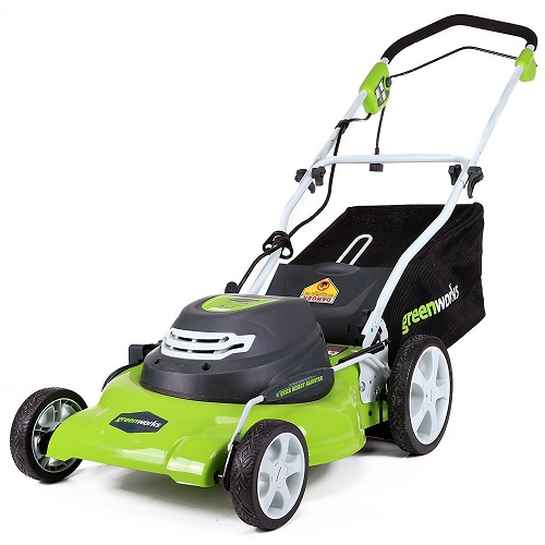 best walk behind lawn mowers - Greenworks 25022