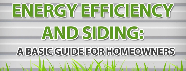 Energy Efficiency and Siding
