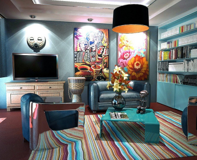 Ways to Maximize your Room Design with Carpets 5