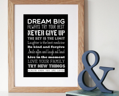 Home Office Decoration Ideas - motivational quotes