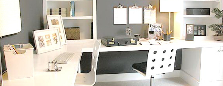 & 5 Wonderful Home Office Decoration Ideas to Motivate Employees - Kravelv
