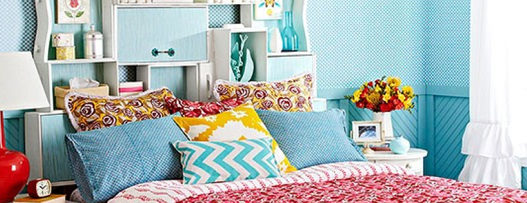 thrifty and Chic Bedroom Ideas