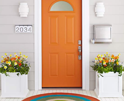 Ways to Spruce up a Home Exterior - Quality Front door