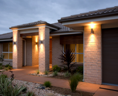 Ways to Spruce up a Home Exterior - exterior wall lights