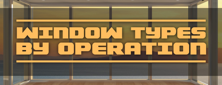 Window Types by Operation