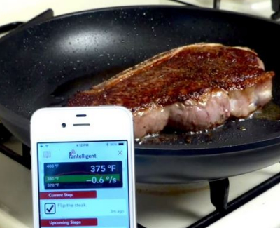 best kitchen gadgets - Pantelligent Smart Frying Pan