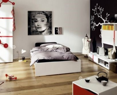 Cute room design ideas for teenage girls kravelv - New york girls room ...