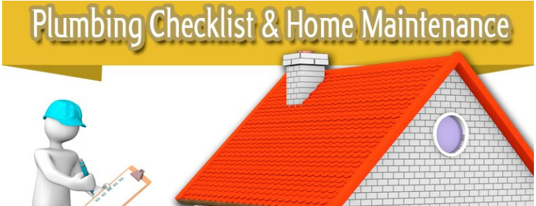 plumbing checklist and home maintenance