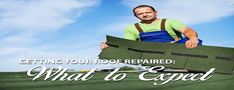 Getting your roof repaired