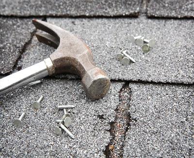Getting your roof repaired3