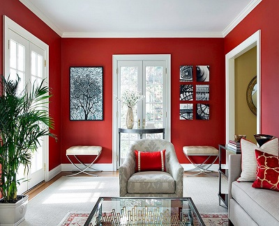 Modern and Classy Décor Ideas - red tinges