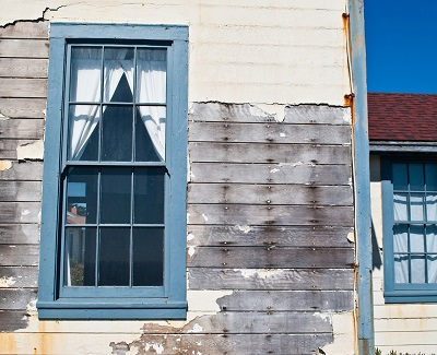 common types of storm damage - exterior damage