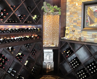 Constructing a small wine cellar in your home kravelv for Small basement wine cellar