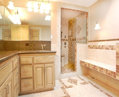 refresh a bathroom with new cabinets1