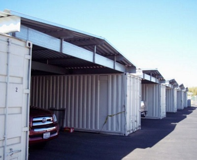 shipping containers - vehicle storage