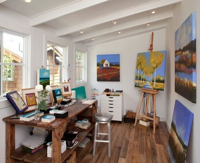 Remodeling Ideas For Your Granny Flat - artist studio