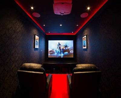 Remodeling Ideas For Your Granny Flat - movie theater