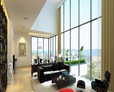 Spatial Perception Using Stunning Glass Walls and Floors1