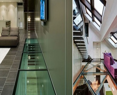 Spatial Perception Using Stunning Glass Walls and Floors2