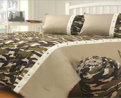 latest camouflage bedding