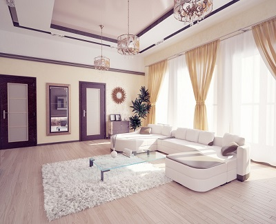 Tips For Faking Extra Space In Your Living Room