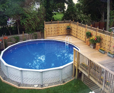 7 reasons to install above ground pools kravelv for Purchase above ground swimming pool