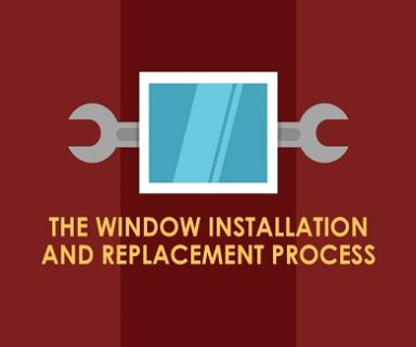 window installation and replacement process