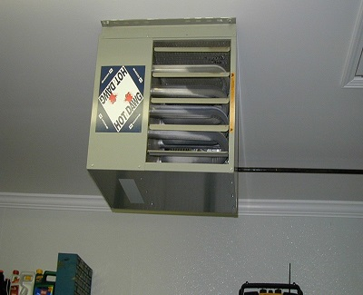 Advantages of garage heater in your house kravelv for How much to install a garage heater