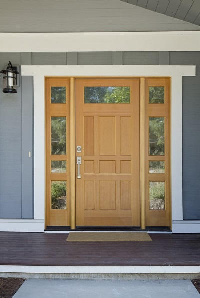 How to burglar proof your entry doors kravelv - Installing prehung exterior door on concrete ...