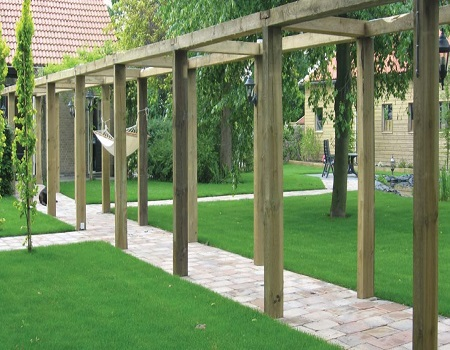 garden structures - Garden Design Trends 2017