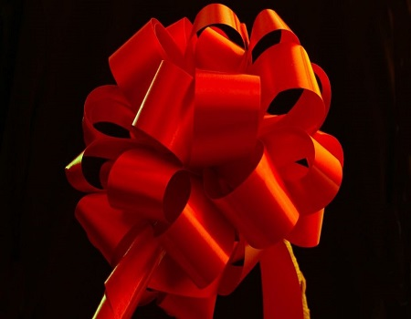 how to make a large bow with ribbon