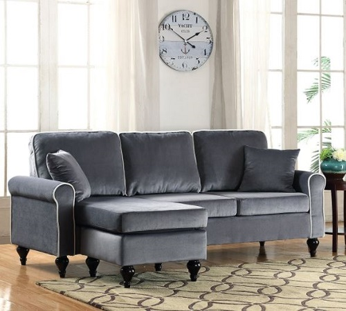 Small Spaces Configurable Sectional Sofa - Classic and Traditional