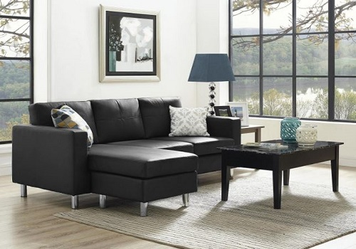 Small Spaces Configurable Sectional Sofa - Dorel Living