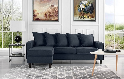 Small Spaces Configurable Sectional Sofa   Modern Living