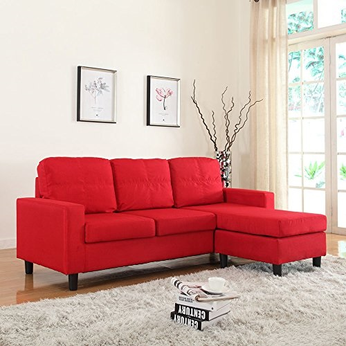 Small Spaces Configurable Sectional Sofa - Modern Small Space Sofa
