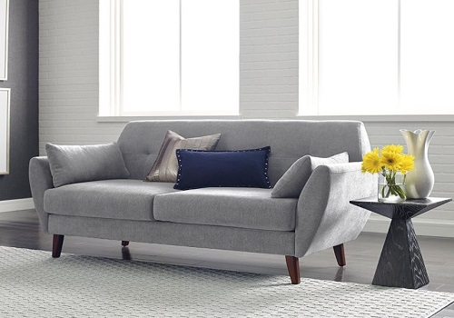 modern loveseat for small spaces - Serta Artesia Collection Loveseat