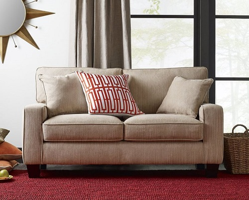 modern loveseat for small spaces - Serta Deep Seating Palisades