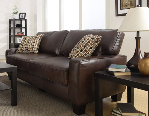 modern loveseat for small spaces - Serta RTA Palisades Collection