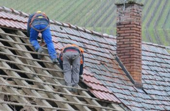 roof maintenance project