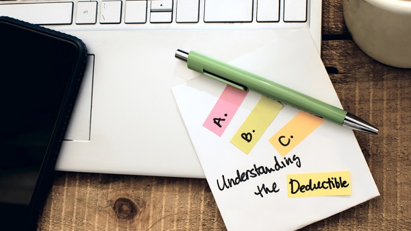 how to track deductibles