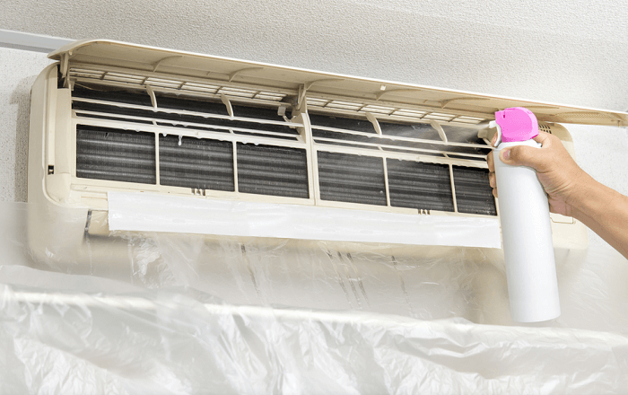 clean mold in ac vents