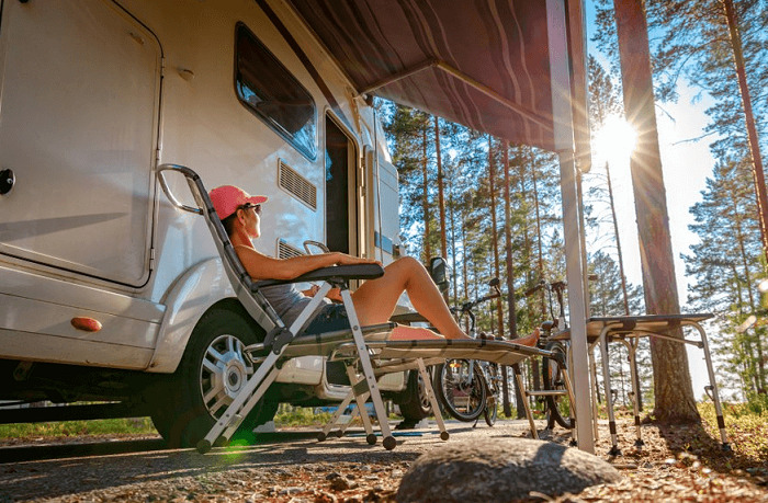 how to keep your RV clean